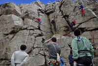 The best places to go rock climbing in the UK and Ireland